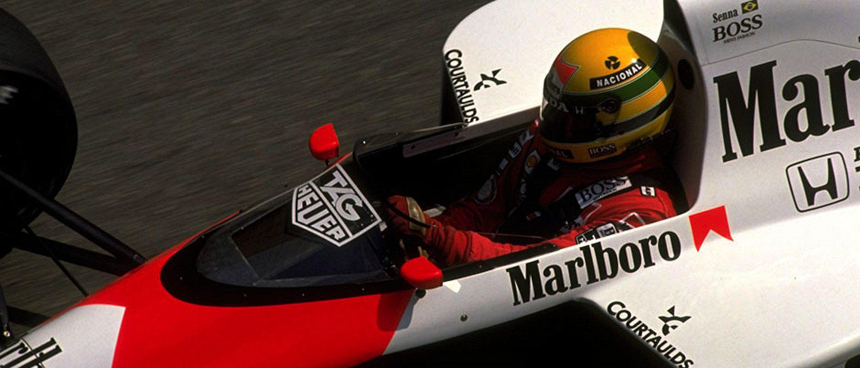Ayrton Senna and his legendary Monaco '88 qualifying lap