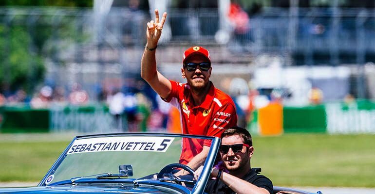 Canadian GP 2018: Super Sebastian ended the Red Team's long dry season  in Canada