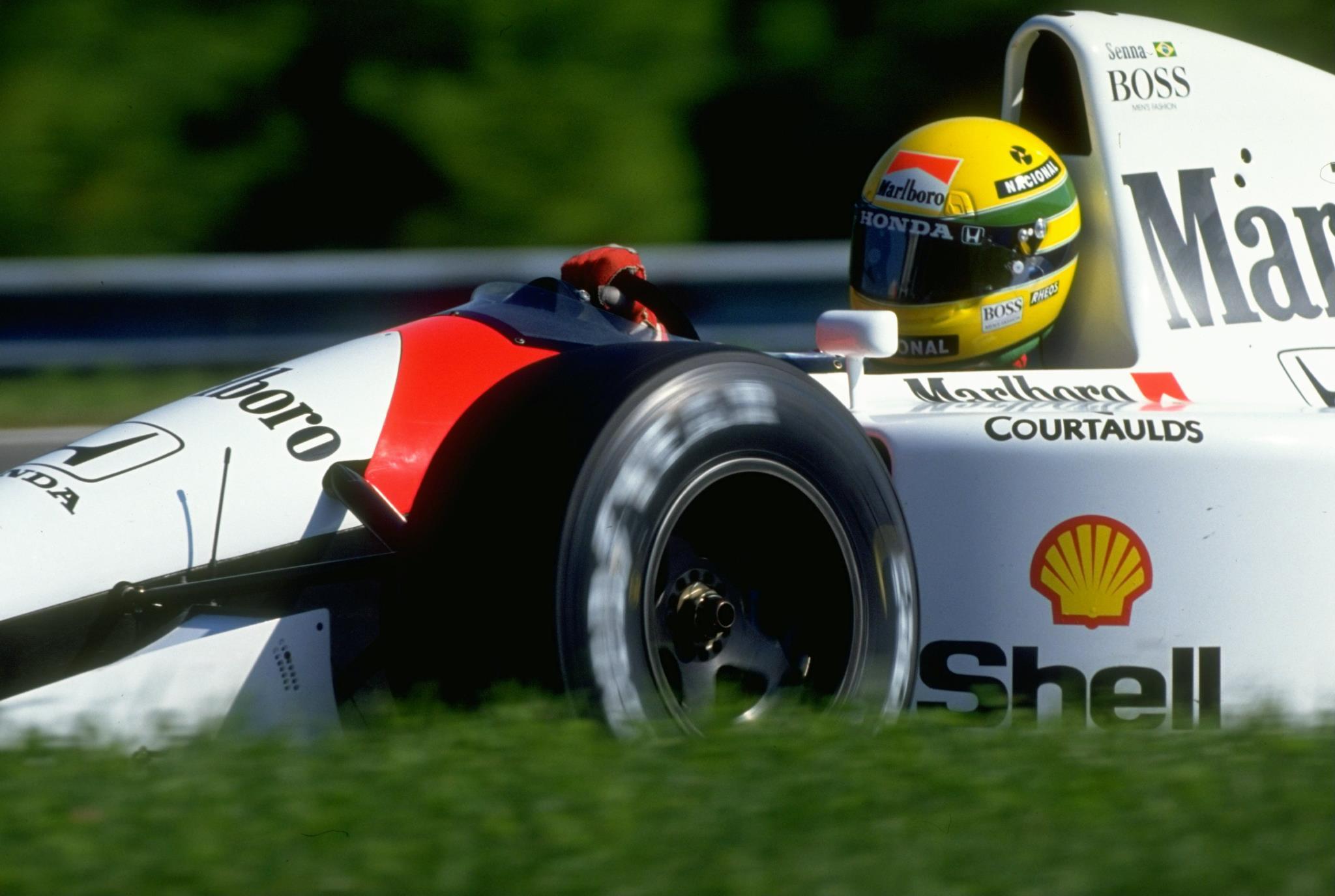 Ayrton Senna The God Of Speed
