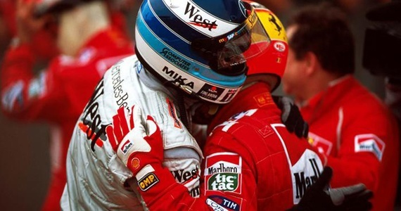 Mika Hakkinen vs Michael Schumacher